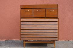 American of Martinsville Walnut Dresser by Merton Gershun for American of Martinsville - 937289