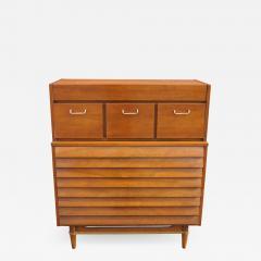 American of Martinsville Walnut Dresser by Merton Gershun for American of Martinsville - 950755