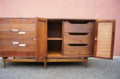 American of Martinsville Walnut Sideboard by American of Martinsville - 785679