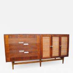 American of Martinsville Walnut Sideboard by American of Martinsville - 800394