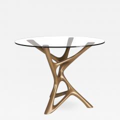Amorph Amorph Ava Center dining Table Gold Finish - 895224