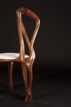 Amorph Amorph Gazelle Dining Chair in Walnut Wood and Natural Stain - 1604293