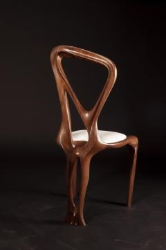 Amorph Amorph Gazelle Dining Chair in Walnut Wood and Natural Stain - 1604294