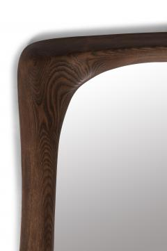 Amorph Amorph Narcissus Mirror frame Solid Wood Graphite Walnut Finish - 1244055