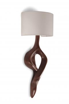 Amorph Amorph Nomi Wall Lamp with shade Walnut finish - 983342
