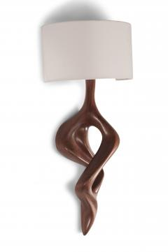 Amorph Amorph Nomi Wall Lamp with shade Walnut finish - 983345