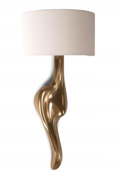 Amorph Amorph Oralee Sconces Gold Finish With Ivory Silk Shde - 1053264