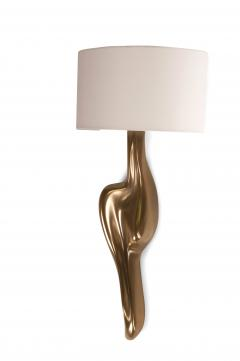 Amorph Amorph Oralee Sconces Gold Finish With Ivory Silk Shde - 1053267