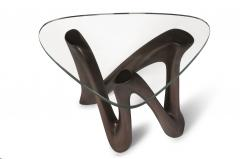 Amorph Amorph Ronia Side Table glass top Bronze finish - 991934
