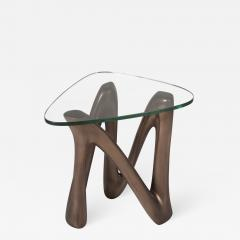 Amorph Amorph Ronia Side Table glass top Bronze finish - 992008