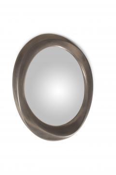 Amorph Chiara Wall Mounted Mirror Stainless Steel Finish - 1570843