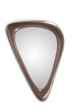 Amorph Contemporary Modern Triangular Mirror Bronze Finish - 595232