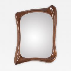 Amorph Narcissus Mirror Frame Walnut Finish - 944723