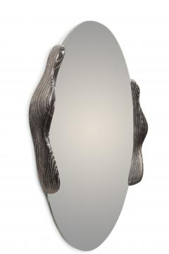 Amorph Ovate Mirror In Desert Night Finish - 1775831