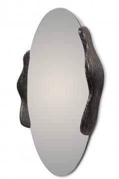 Amorph Ovate Mirror In Desert Night Finish - 1775832