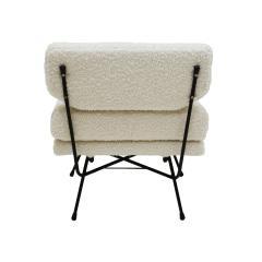 Arflex Mid Century Modern Set Of Three Armchairs Mod Elettra Designed By B B P R - 2049156
