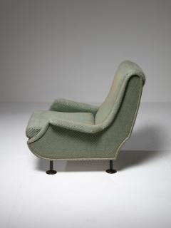 Arflex Pair of Regent Lounge Chairs by Marco Zanuso for Arflex - 1032216