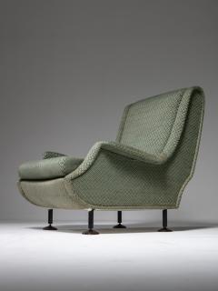Arflex Pair of Regent Lounge Chairs by Marco Zanuso for Arflex - 1032218