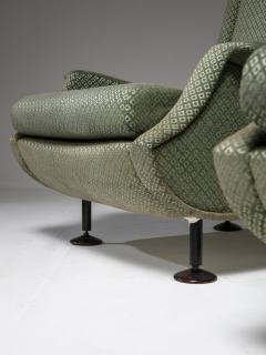 Arflex Pair of Regent Lounge Chairs by Marco Zanuso for Arflex - 1032219