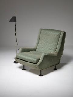 Arflex Pair of Regent Lounge Chairs by Marco Zanuso for Arflex - 1032221