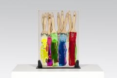 Arman 1970 lucite inclusion by Arman - 836851