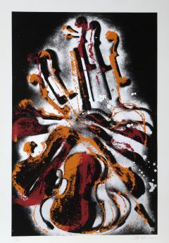 Arman Diabelli Varitions Serigraph by Arman - 618579