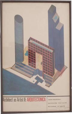Arquitectonica Arquitectonica Poster 1984 - 500225