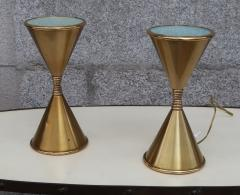 Arredoluce A Pair of Brass Table Lamps by Arredoluce Italy 1960 - 573354