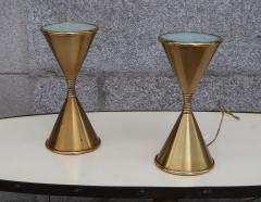 Arredoluce A Pair of Brass Table Lamps by Arredoluce Italy 1960 - 573355