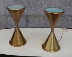 Arredoluce A Pair of Brass Table Lamps by Arredoluce Italy 1960 - 573357