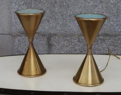 Arredoluce A Pair of Brass Table Lamps by Arredoluce Italy 1960 - 573363