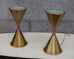 Arredoluce A Pair of Brass Table Lamps by Arredoluce Italy 1960 - 573366