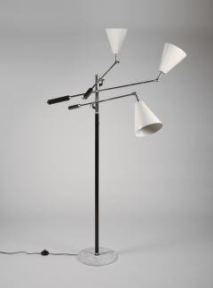 Arredoluce Arredoluce Triennale Three Arm Adjustable Floor Lamp - 1096802