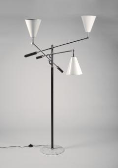 Arredoluce Arredoluce Triennale Three Arm Adjustable Floor Lamp - 1096804