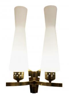 Arredoluce Pair of Mid Century Wall Lights in the Manner of Arredoluce - 1147825