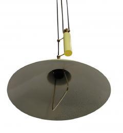 Arredoluce Sliding hanging lamp in the style of Arredoluce or Stilnovo Italy 1950 - 904223