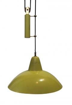 Arredoluce Sliding hanging lamp in the style of Arredoluce or Stilnovo Italy 1950 - 904225
