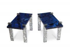 Arriau Pair of Petram Side Tables by Arriau - 1044037