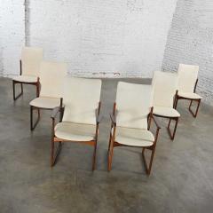 Art furn Scandinavian modern danish rosewood dining chairs by art furn - 2130309