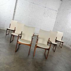 Art furn Scandinavian modern danish rosewood dining chairs by art furn - 2130310