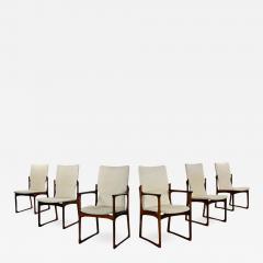 Art furn Scandinavian modern danish rosewood dining chairs by art furn - 2132045