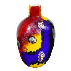 Arte Vetraria Muranese A V E M A Ve M AVeM Colorful Handblown Glass Vase by A V E M 1960s - 2126200