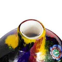 Arte Vetraria Muranese A V E M A Ve M AVeM Colorful Handblown Glass Vase by A V E M 1960s - 2126203
