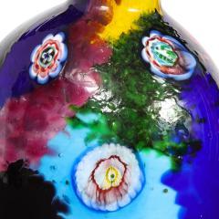 Arte Vetraria Muranese A V E M A Ve M AVeM Colorful Handblown Glass Vase by A V E M 1960s - 2126204