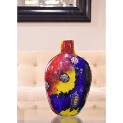 Arte Vetraria Muranese A V E M A Ve M AVeM Colorful Handblown Glass Vase by A V E M 1960s - 2126991