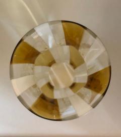 Arte Vetro Murano Pair of Vintage Murano Glass Hurricane Shades Italian 1960s - 1093178