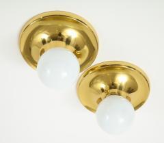 Arteluce Archille Castiglioni For Arteluce Brass Sconces - 1515539