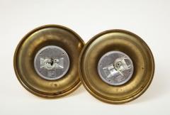 Arteluce Archille Castiglioni For Arteluce Brass Sconces - 1515545