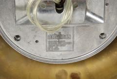 Arteluce Archille Castiglioni For Arteluce Brass Sconces - 1515548