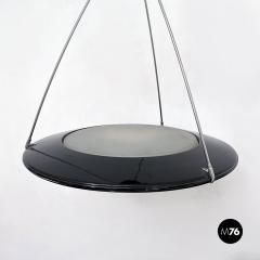 Arteluce Metal chandelier mod Mira C by Ezio Didone for Arteluce 1980s - 2102789